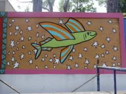 Butterfly Beach mural project