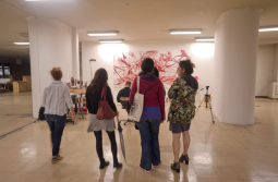 Independent art space Pivo. Image courtesy of Casa Tomada.