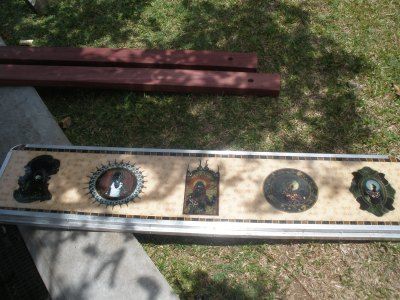 Installing the bench