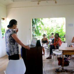 Tatiana Flores workshop on Latin American Art.