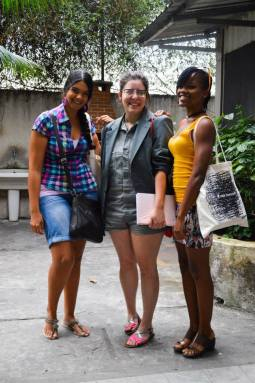 Katherine Kennedy, Flora Leite and Shanika Grimes. Image courtesy of the NCF