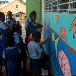 Workmans mural project