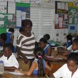 Versia Harris' animation workshop with St. Gabriel's Primary School