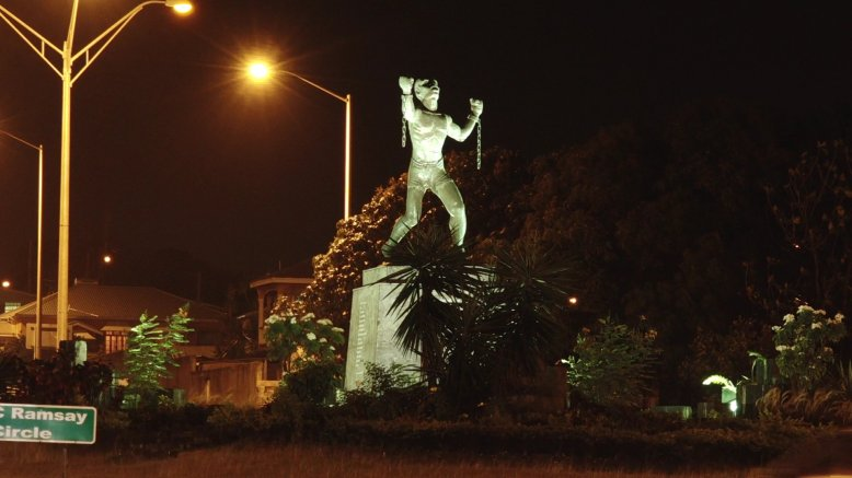 An emancipated Bussa symbolizes a full-bodied rebellion in Barbados