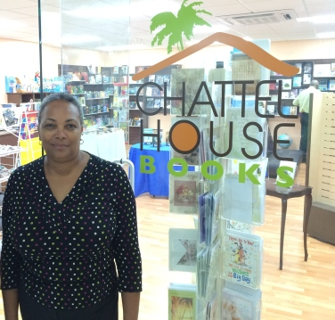 Owner of Chattel House Books Beverly Smith-Hinkson. Promoting local artists and literacy