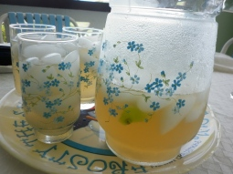 Fresh-squeezed lemonade, compliments of Anita Daniel,