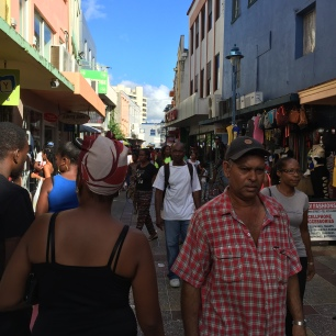 Bridgetown on a Saturday