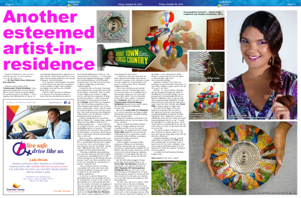 Barbados today Katherine article
