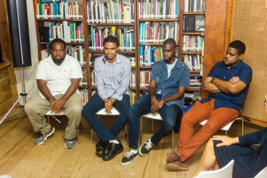 Some members of the Beyond Publishing Caribbean Team
