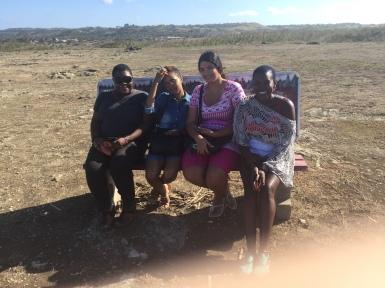 Llanor Alleyne, Amanda Haynes, Katherine Kennedy and Versia Harris