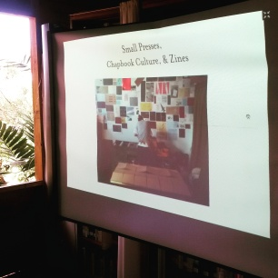 Day 2 of 'The Art of the Book' workshop