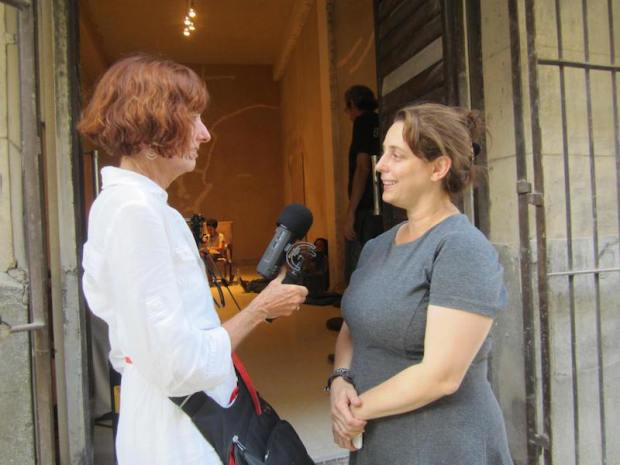 Cathy-Byrd-with-Tania-Bruguera-21-May2015_lr