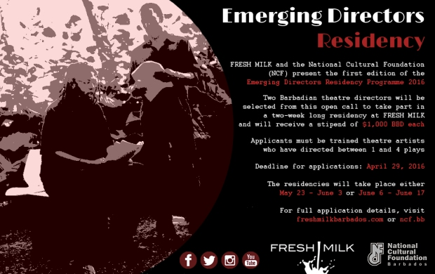 FM-NCF Emerging Director Residency Flyer