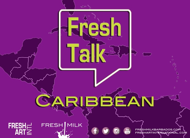 Fresh Talk Caribbean Flyer