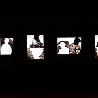 Export Quality, Illuminated chromogenic print on Duratran. Installation view Queensland Art Gallery, 2012