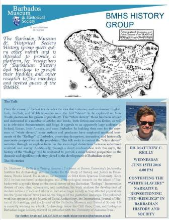 Flyer for Matthew Reilly's lecture