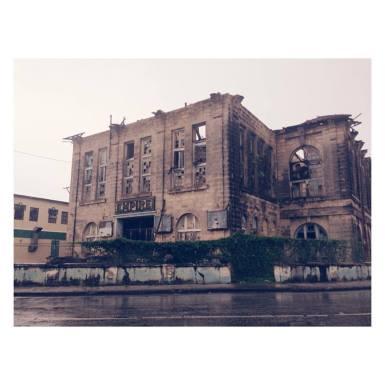 The old Empire Theatre building in Bridgetown