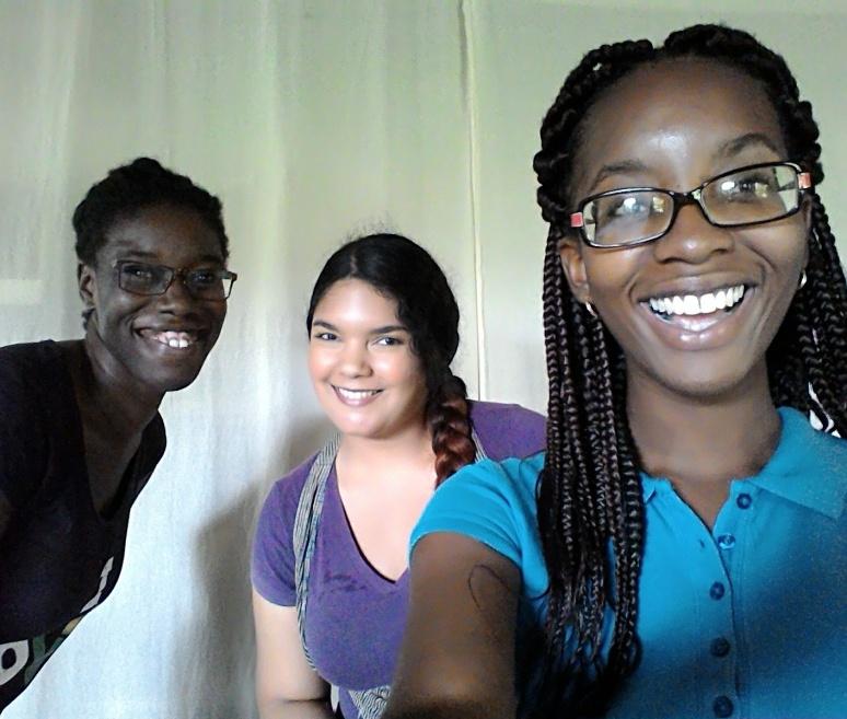 Renelde Headley, Katherine Kennedy and Anisah Wood