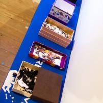 Process work by Anisah Wood on display at FRESH MILK XIX