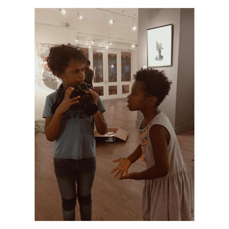 Solali and Namila at Gallery NuEdge