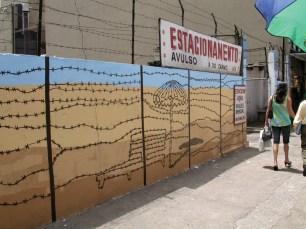 Danilo Oliveira, Rita, Acrylic on wall, 2009.