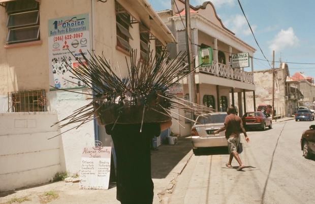 Adam Patterson, Echidna, Performance. Speightstown, Barbados, 2016.