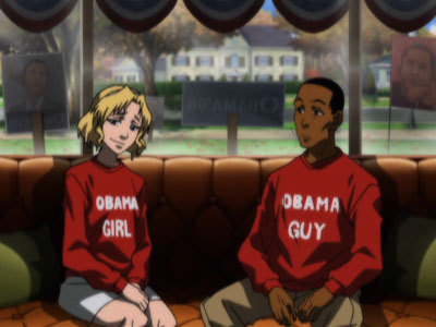Sarah and Thomas DuBois from 'The Boondocks'