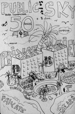 Bajan Chronicles 3: Sketch poster for the Hilton's 50th anniversary