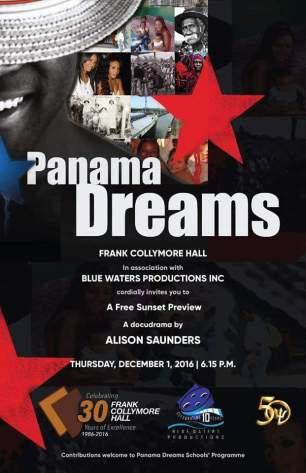 Panama Dreams, a docudrama by Alison Saunders