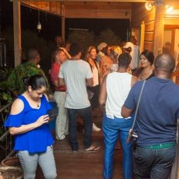 The audience at FRESH MILK XX. Photo by Dondré Trotman (http://dondretrotman.com)