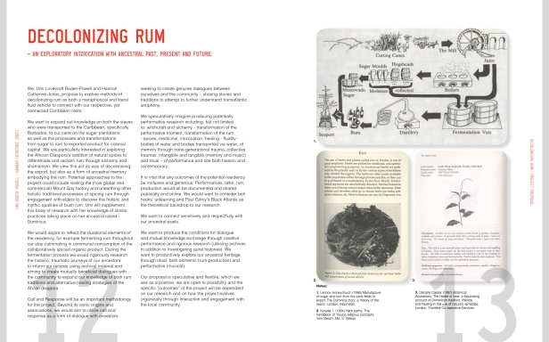 Decolonizing Rum - Excerpt from Proposal by Umi Baden-Powell & Hannah Catherine Jones