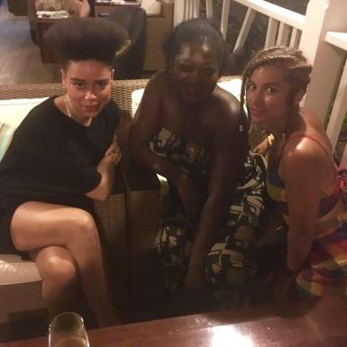 HCJ+UBP with Hannah's cousin Sandra.