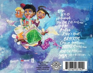 'KOD' album by J. Cole (back)