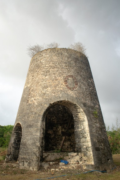The old windmill at Walker's Dairy.