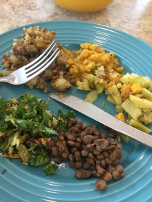 Green Lime Cafe vegan lunch