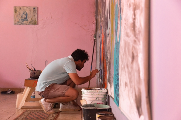 Samuel Sarmiento, Caribbean Linked VI 2021 participating artist. Photo courtesy of the artist.